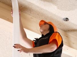 SINGLE-Schlauchtechnik Dach